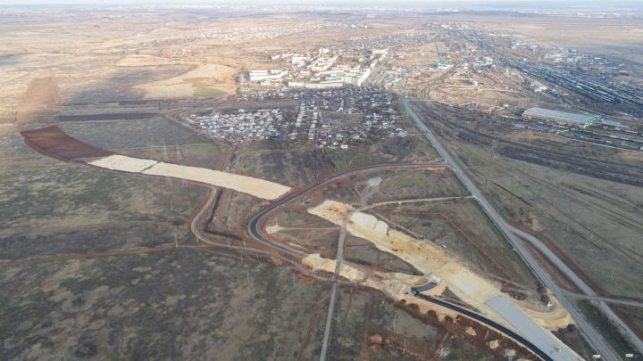 В Волгограде строят обход посёлка Горьковского