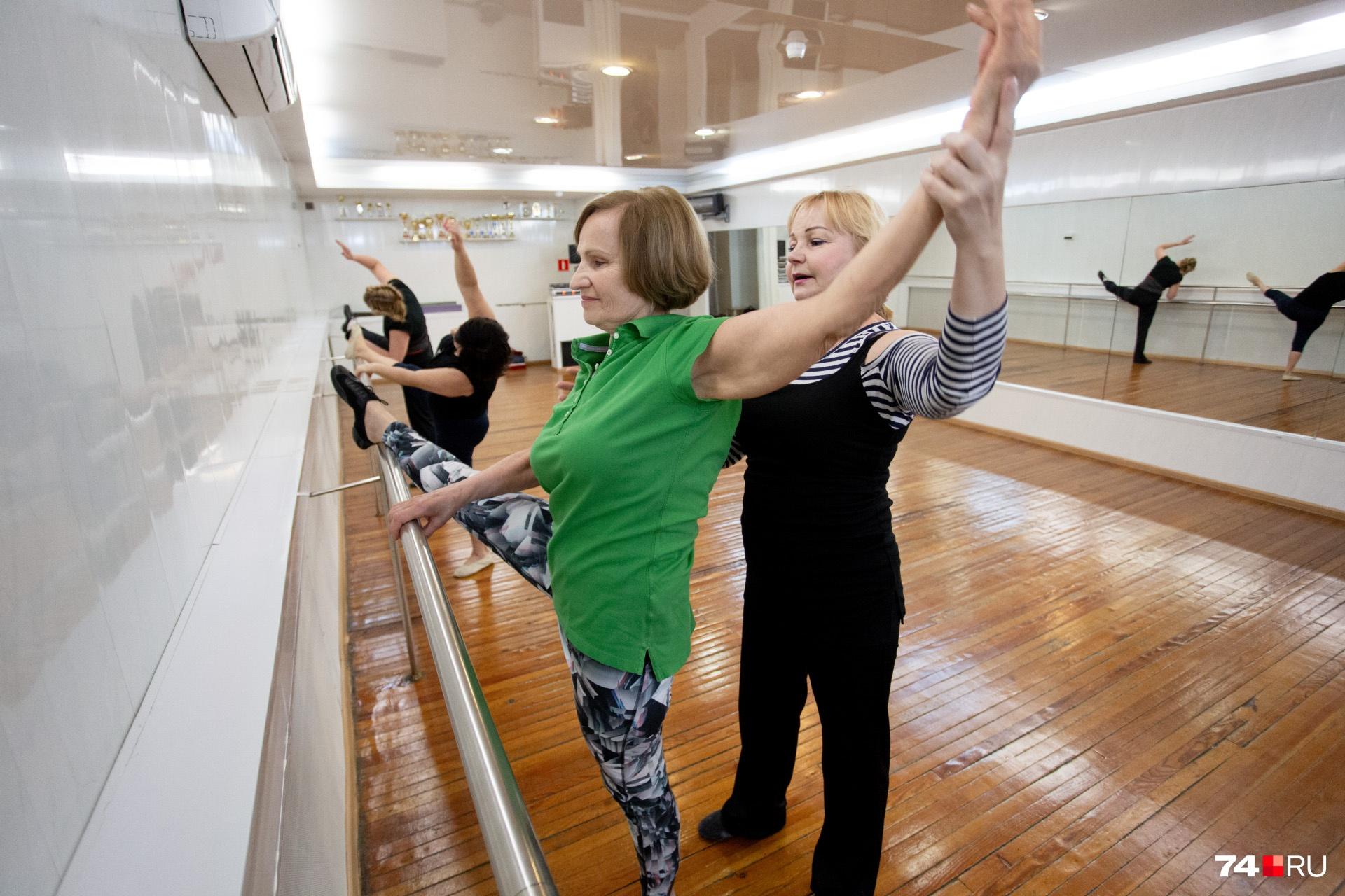 Татьяна начала заниматься танцами ещё при Ельцине