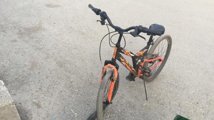 В центре Перми внедорожник сбил 24-летнюю велосипедистку