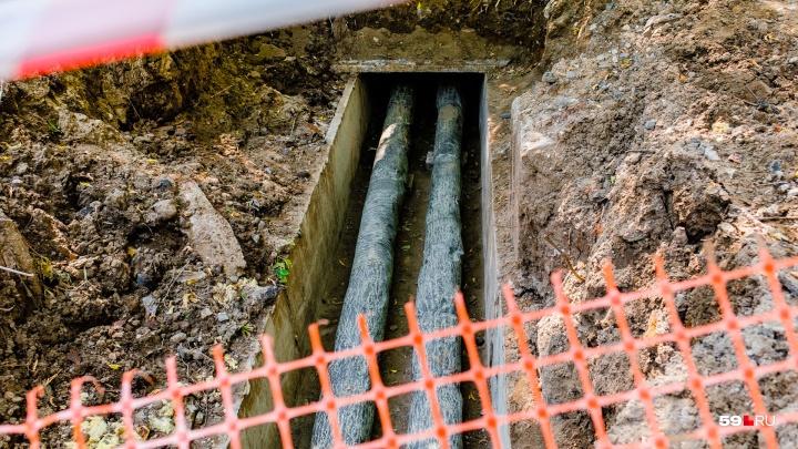 В трех районах Перми из-за ремонта труб отключат холодную воду
