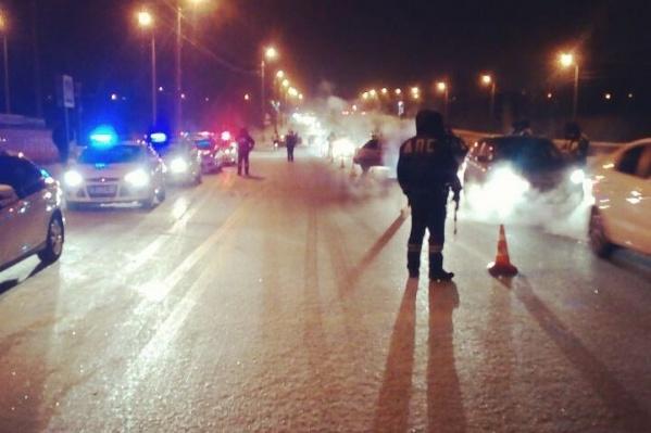 Проверка тюменских водителей проходила рано утром до начала часа пик