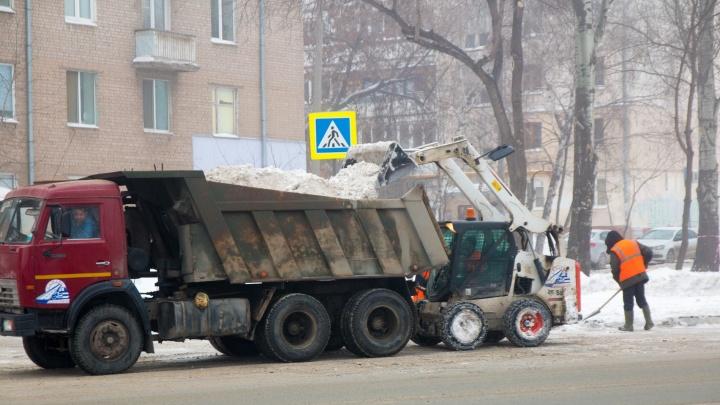 Придется скидываться деньгами: самарцам рассказали, как организовать вывоз снега из дворов