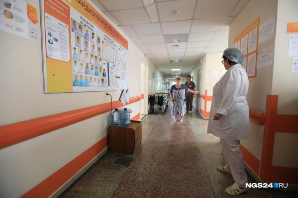 Самых тяжелых больных лечат в пульмонологическом отделении краевой больницы