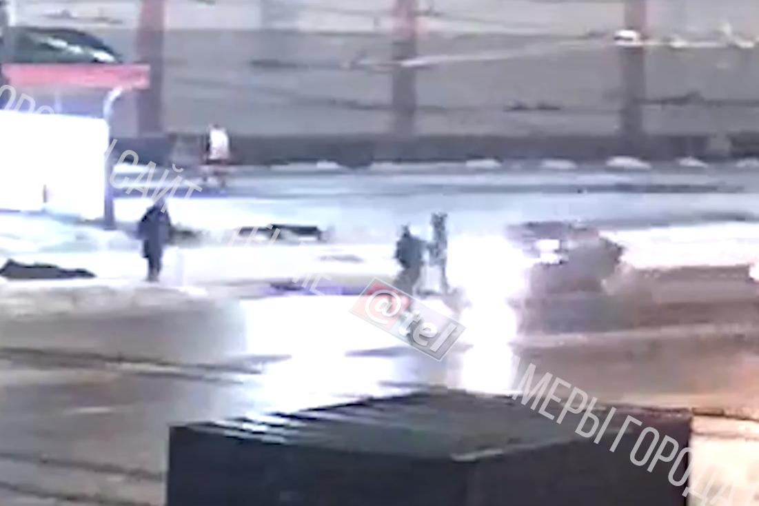 В Рыбинске на переходе сбили пешехо