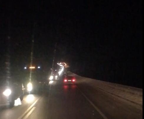 Бум аварий на М-8: на трассе собрались многокилометровые пробки