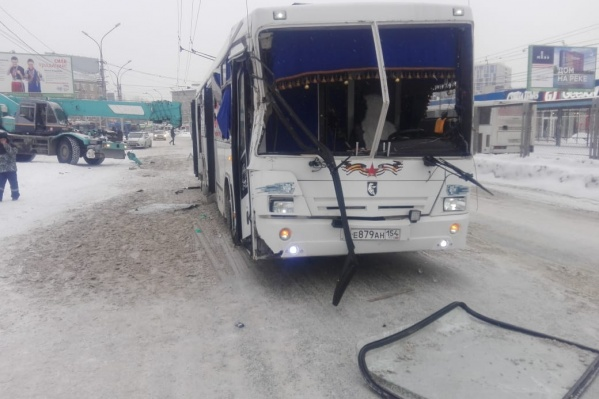 О пострадавших пассажирах не сообщалось