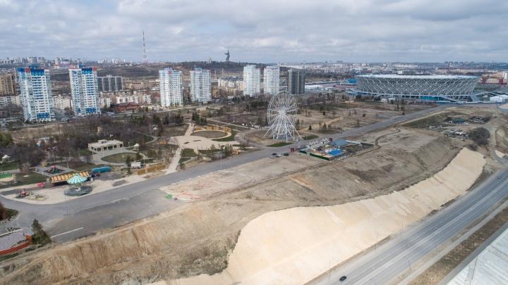 Чиновники Волгограда не видят ничего необычного в срыве сроков по ЦПКиО