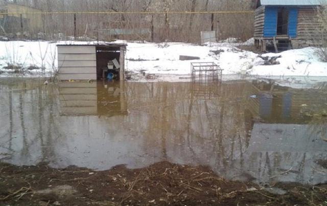 В Уфе эвакуировали семью из-за подтопления