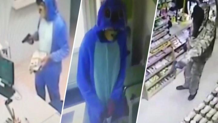 «В костюме Стича с игрушечным пистолетом»: стали известны подробности серии ограблений в Тольятти