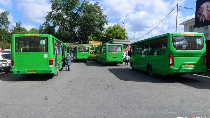 В Екатеринбурге перестроят тесное автобусное кольцо возле больницы №7
