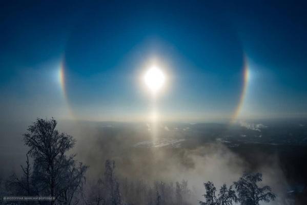 Гало — очень красивое атмосферное оптическое явление