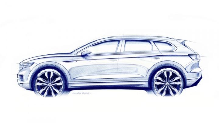 Volkswagen официально показал новый Touareg