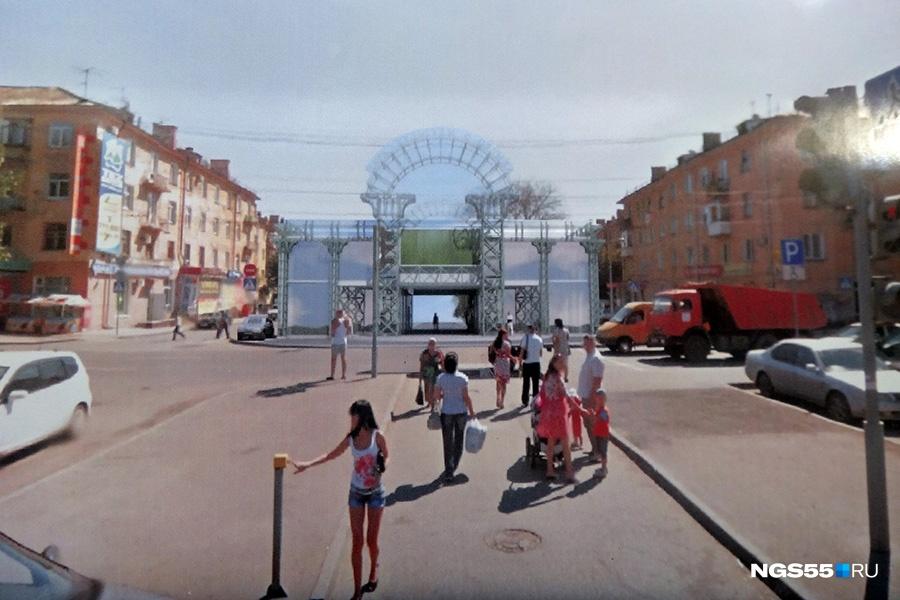Напути кСоветскому парку Омска могут построить торговый комплекс