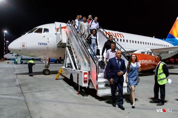 Авиакомпания «Азимут» закрыла рейсы Волгоград — Ростов и Волгоград — Краснодар