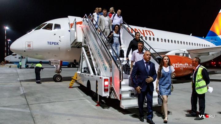 Авиакомпания «Азимут» закрыла рейсы из Волгограда до Ростова и Краснодара