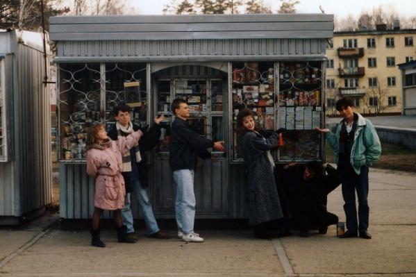 Ларёк — типичная точка розничной торговли конца 1990-х — начала 2000-х годов