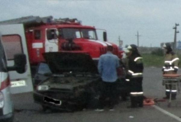 В Нефтекамске столкнулись два автомобиля: известно об одном пострадавшем