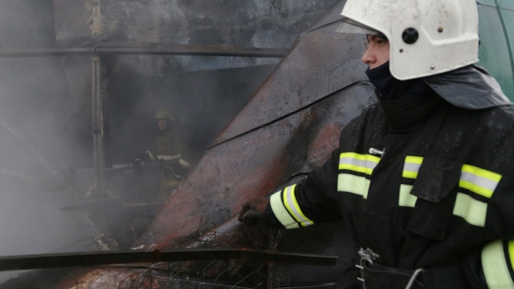 В башкирской деревне сгорел мужчина