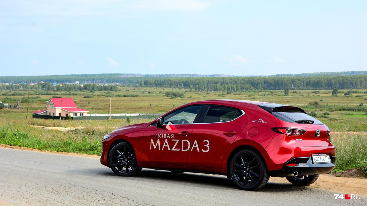 Mazda3 находится на полпути от мейнстрима С-класса к премиум-классу