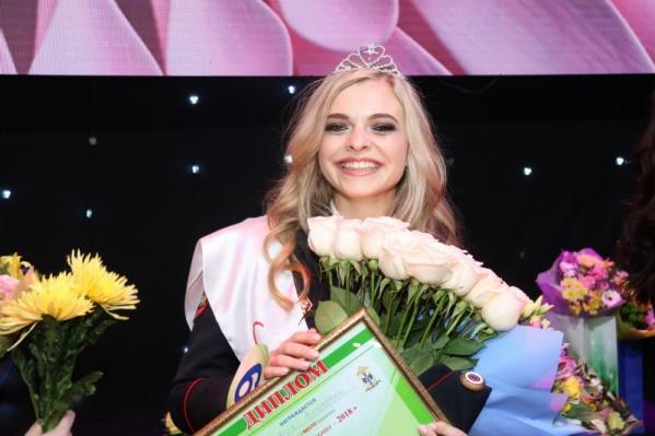 Победительница конкурса«Леди в погонах — 2018» Виктория Рыжих