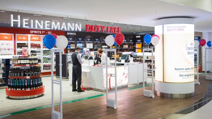 В нижегородском аэропорту открылся первый магазин дьюти-фри