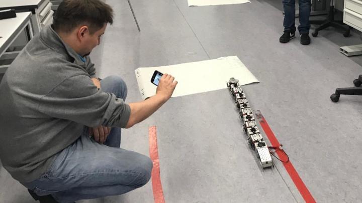 Красноярские школьники разработали прототип робота-змеи