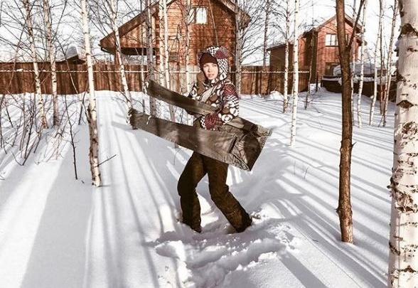 Сибиряки присоединились к американскому челленджу и заморозили свои штаны