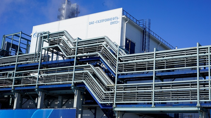 На омском нефтезаводе сегодня заметили силовиков