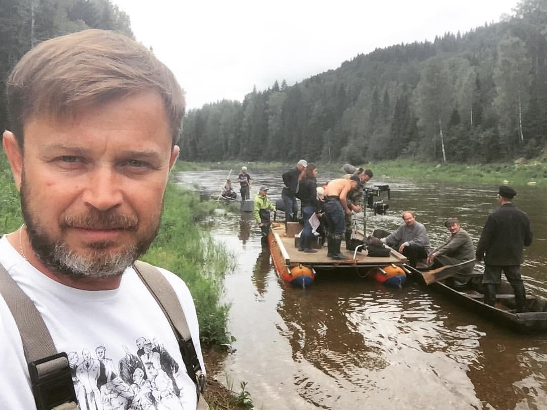 Евгений Пугин помогал в выборе локаций и на съемках фильма