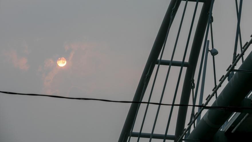 Названа новая дата рассеивания дымки над Красноярском: ждем перемены направления ветра