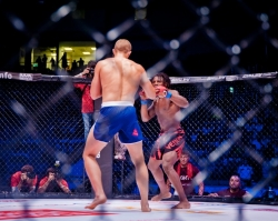 Уфимские спортсмены победили в бойцовском турнире Fight Nights