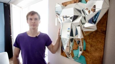 Экономист из Челябинска делает головы животных в технике украшений от «Тиффани»