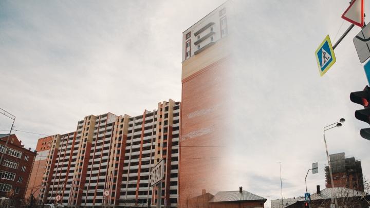 «Снесли» скандальный дом на Герцена: смотрим, как будет выглядеть улица без долгостроя