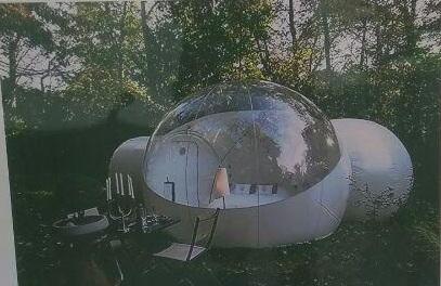 Красноярец изобрел надувные гостиницы для туристов на Шира и Байкале