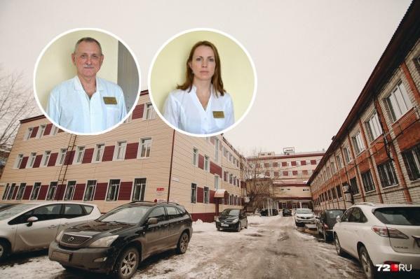 Александр Горохов и его дочь Екатерина Солдатова. Оба работают врачами