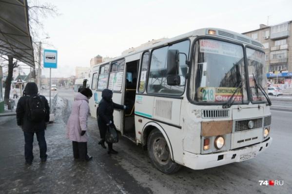 Жители Старокамышинска и садоводы чаще всего предпочитают 218-й маршрут