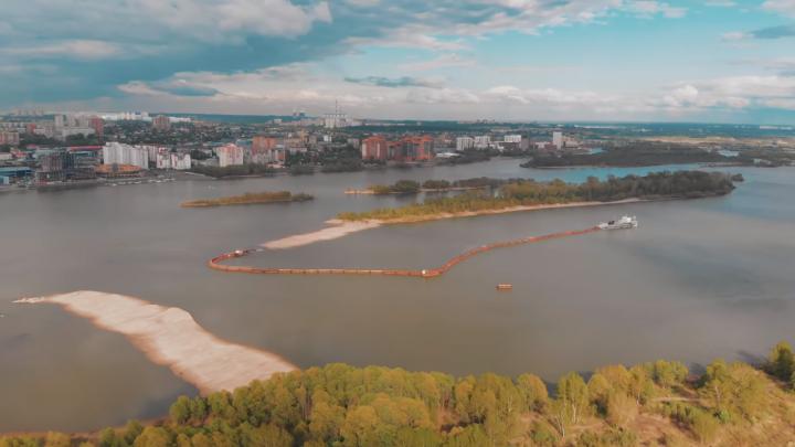 «Это технологически интересный момент»: новосибирец снял ролик о начале строительства нового ЛДС