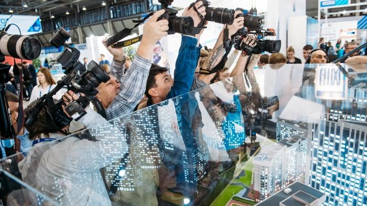 От новых небоскребов до лазерных светофоров: чем удивит выставка на 100+ Forum Russia