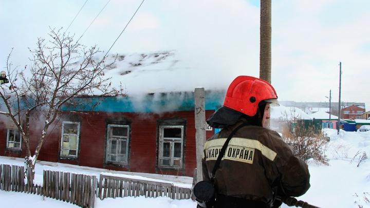 На пожаре в Омской области погиб двухлетний ребёнок