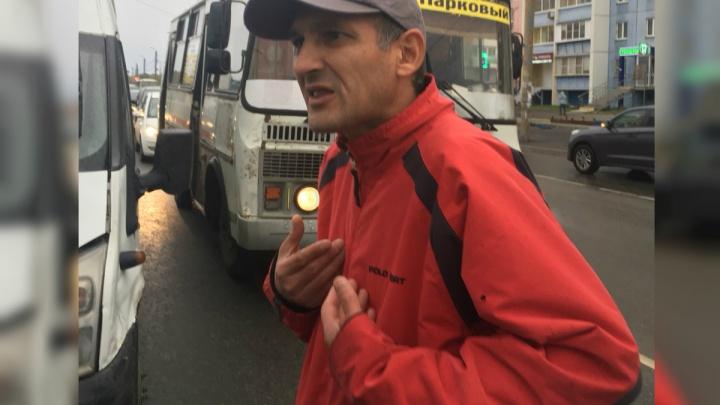 «Дочь испугалась до смерти»: маршрутчик с товарищем избили автомобилиста в Парковом