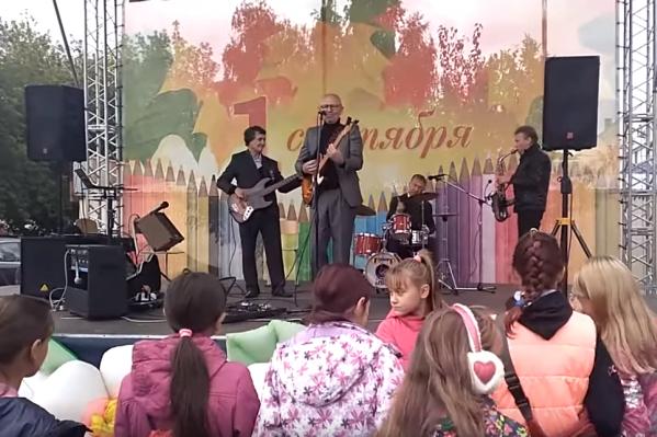Концерт в Новосинеглазово посвятили Дню знаний