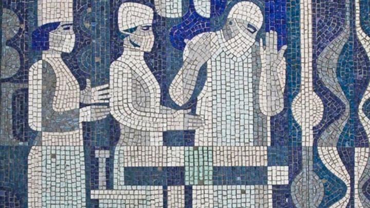 «Люди в белых халатах» уйдут под «скальпель»: в Волжском могут уничтожить уникальную мозаику