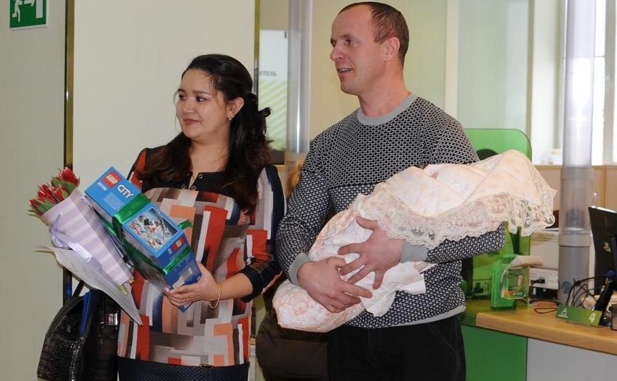Второй ребёнок в семье Сафоновых родился в январе этого года