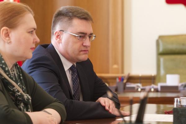 Управляющий красноярским отделением Сибирского управления Центробанка Сергей Журавлев