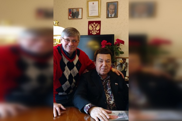 Владимир Щукин и Иосиф Кобзон