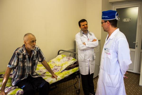 Новосибирец Дмитрий Шевцов выдержал очень опасную для жизни операцию