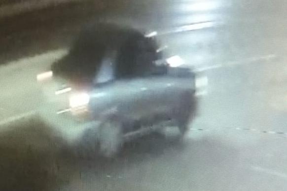 Машина, сбившая пешехода, попала на видеозапись
