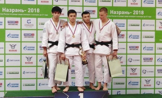 Екатеринбургский дзюдоист стал бронзовым призером первенства России