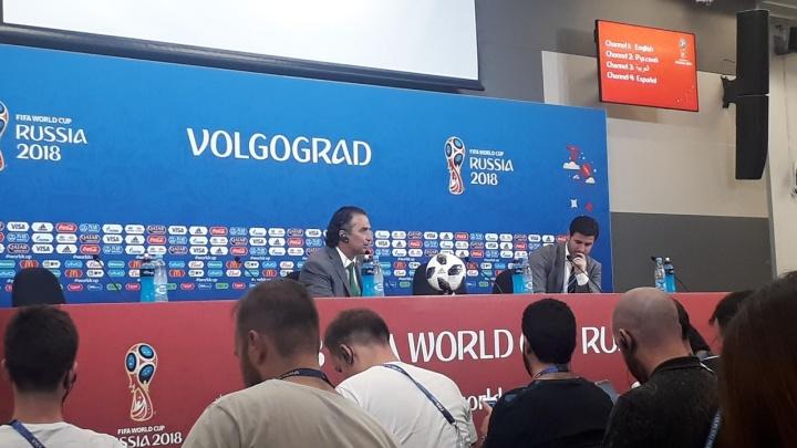 Тренер сборной Саудовской Аравии: «В Волгограде мы смогли навязать свою игру»