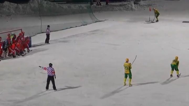 «Водник» разгромил «Сибсельмаш» на его домашнем стадионе в Новосибирске